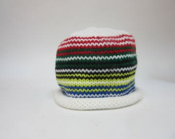 Striped Olympic Hat