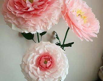 Self Standing Oversized paper flower,Huge giant flower, Giant paper flower,Free standing Giant flower, Wedding Oversized Photo prop