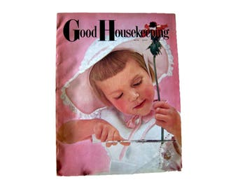 Good Housekeeping Magazine May - Home Decor - Retro Kitchen - Vintage Fashion - Fashion Magazine - Vintage Magazine - Vintage Periodical