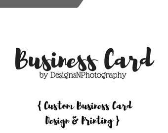 CUSTOM Business Cards, Your Logo, OOAK Business cards, Business branding
