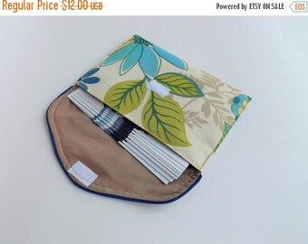 ON SALE Memorial/Convention Invitation Clutch-Blue lagoon floral