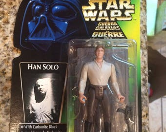 Han Solo carbonite foreign card