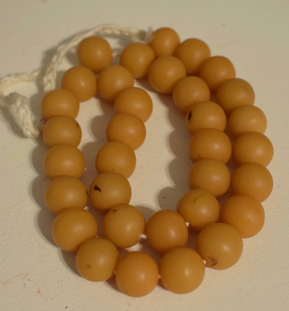 Beads Philippines Tan Buri Nut Round Jewelry Necklace Earrings Buri Nut Beads