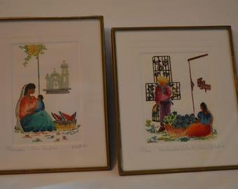 Mexican Village Art Prints