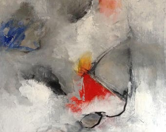 Inspired - Original Modern Abstract Art Painting - Acrylic On Canvas