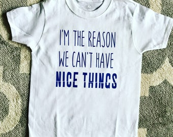 Im The Reason We Cant Have Nice Things Tee