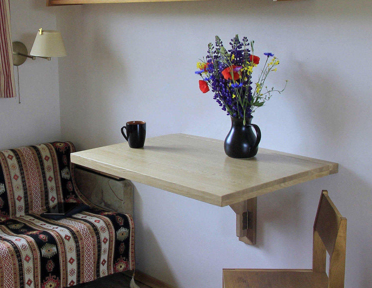 Drop Leaf Table Small Kitchen Ideas Wall Mounted Table