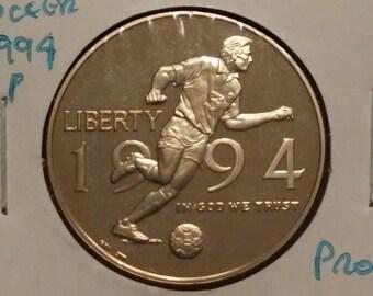 1994-S World Cup Soccer Commemorative Half Dollar
