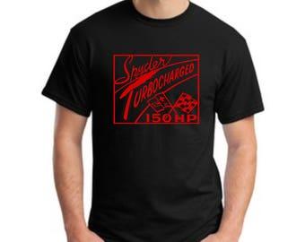 Corvair Tee Shirt Turbo Spyder Logo