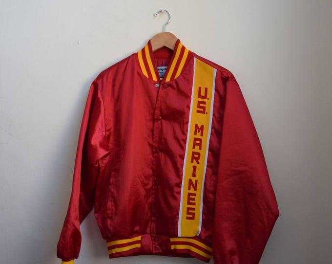 Vintage US Marines Bomber Jacket.