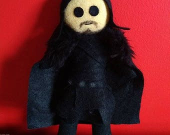 Handmade Game of Thrones Plush - Jon Snow