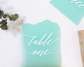 Laser Cut Acrylic Table Number, Wedding Decor, Party Decor, Perfect Weddings, Gold Wedding Decor, Acrylic Wedding Signs, Custom Decor