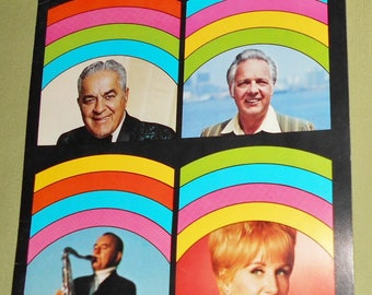 1972 Program Big Band Cavalcade