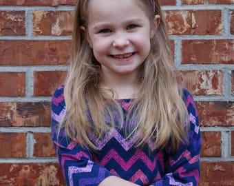 Purple Headband - Purple Flower Headband - Headband - Toddler Headband - Girl headband - Purple flower - purple flower headband - Hard Band