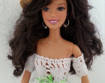 OOAK Barbie doll : summer in Provence