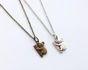 KOALA Necklace Koala Jewelry Koala Gift Australia Gift Australia Necklace Australia Jewelry Animal Gift Animal Necklace Animal Jewelry Koala