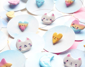 Hand-Painted Pins