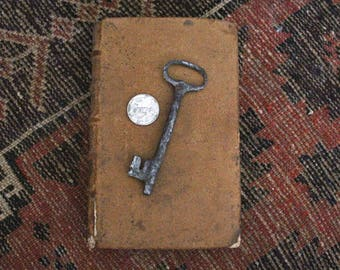 1800 Antique Vintage French- Skeleton Key-Hand forged