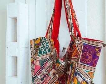 FREE SHIPPING!!Boho Gypsy Bag,Banjara Bag,OOAK Shoulder Bag,Tribal,Hippie Bag