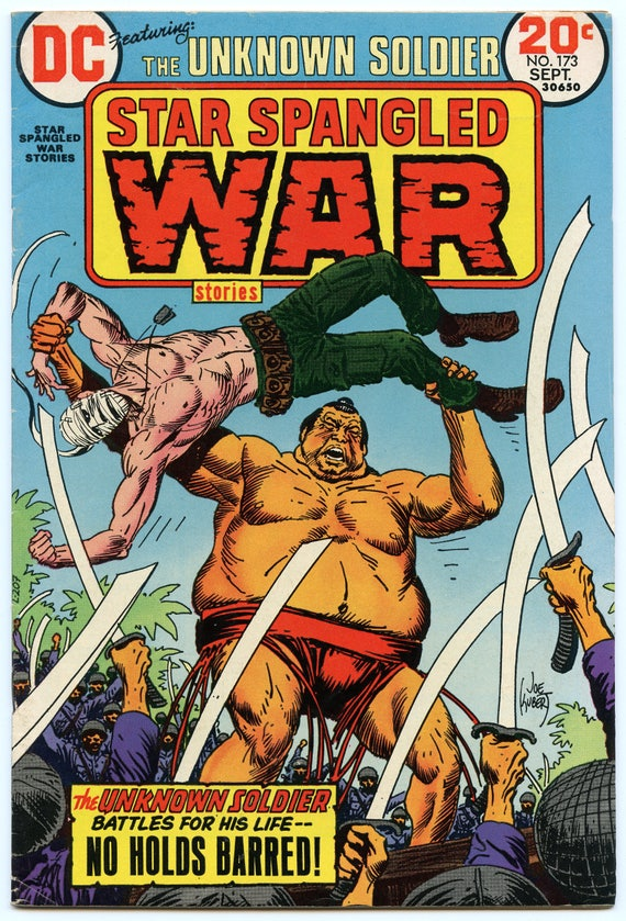 Star Spangled War Stories 173 Sep 1973 FI- (5.5)