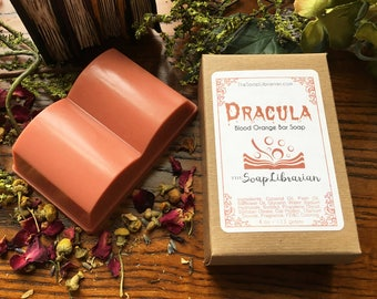 Dracula Bar Soap - Book Themed Natural Soap