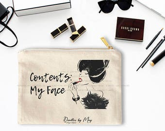Contents: My Face -Cosmetic Bag- Cosmetic -Doodles by May- Fashion Illustration