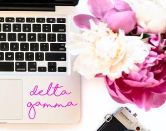 Delta Gamma Laptop Yetti Camelbak Decal