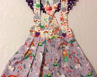 Sophia Ruffle Suspender Skirt