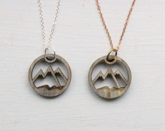 North Shore Mountains Love // Beetle Kill Pine Necklace