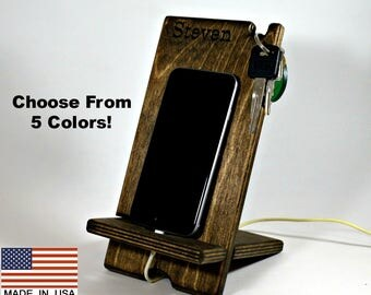Phone dock, iPhone dock, Galaxy phone dock, Dock, Docking Station, Small phone dock