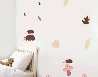 Forest Wall Decals | Etsy