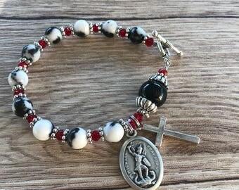 Rosary Bracelet Saint Michael