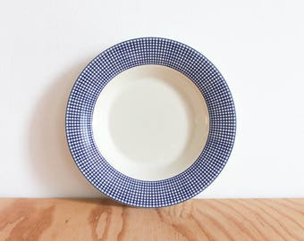 Swid Powell Blue Graph Bowl