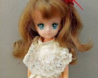 Vintage BANDAI Lady Omekashi Georgie 1983 Doll