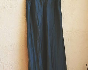 Vintage 1980's Oscar De La Renta Nightie. Silk Lingerie nightgown. Vintage nightwear. Silk nightie.