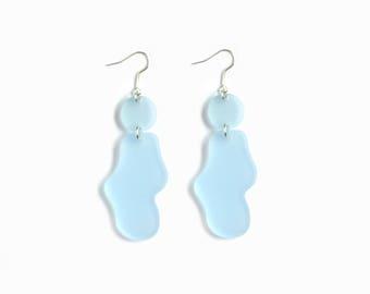 POOL - Abstract Shape Acrylic Earrings