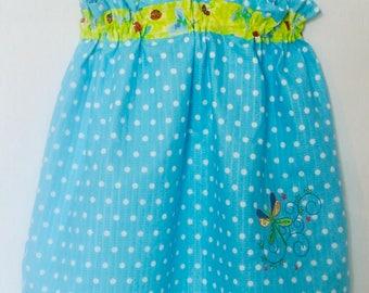 Toddler pillowcase dress, size 5-6T