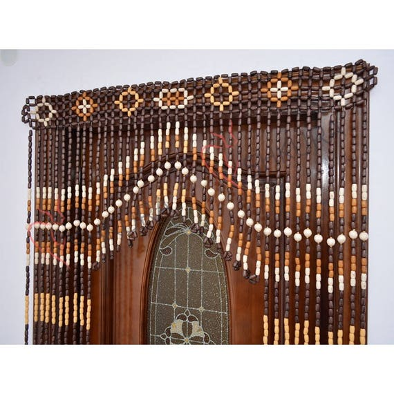 door curtain wood curtain wood blinds door beaded