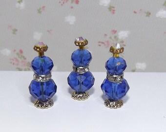 Miniature Perfume Bottles. Soap, Oil Dispensers. Vases, Ornaments. Dollhouse Bedroom, Bathroom Accessories. Barbie Accessories. Vanity Items