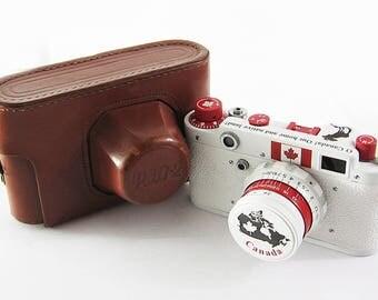 FED 2 Canada Russian Soviet 35mm Film Leica Copy Rangefinder Camera Industar-26m Lens
