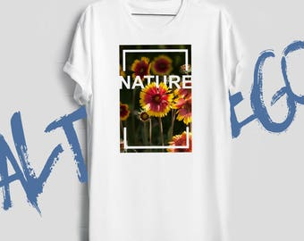 Nature shirt / Nature lover gift / Nature t shirt / Women nature shirt / Nature tshirt / Nature t-shirt / Nature lover