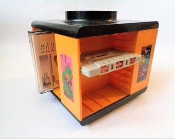 Cassette Tape Holder, Revolving Cassette Storage, Cassette Carrier, Cassette Storage Display Rack, Cassette Storage, Cassette Tape Case