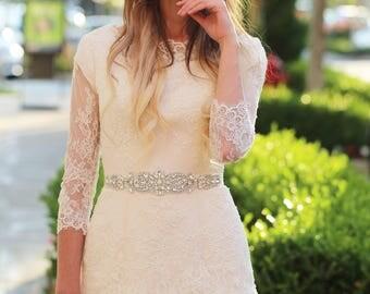 Bridal belt - wedding belt - rhinestone belt - wedding sash - bridal sash - crystal sash - rhinestone sash - bridal sashes and belts