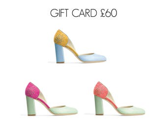Leather Shoes~Gift Voucher 60 Pounds~Can be used on any of our Shoes.