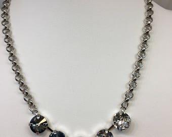 Blue Ombré 11mm necklace