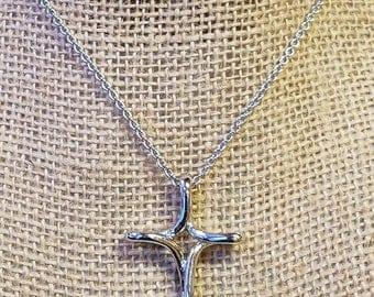 Vintage Cookie Lee Cross necklace, Cookie Lee, Cross Necklace, Cookie Lee Necklace, Cookie Lee Cross necklace, Cross, Cross necklace