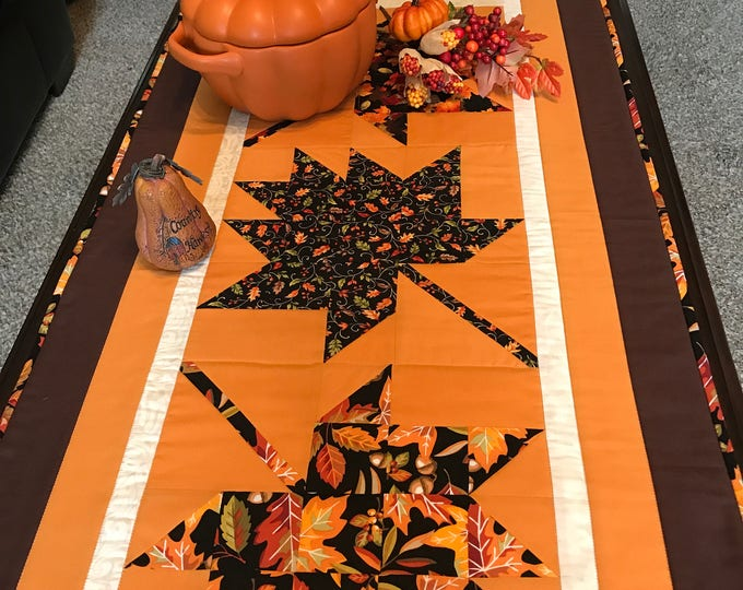 SALE-Falling Leaves Table Runner