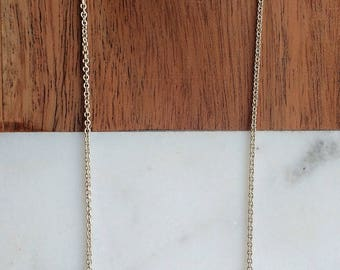 Cyllene Necklace - Porcelain and sterling silver