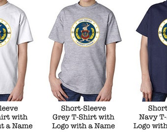 NOW with Grey, White and Navy T-Shirts! Odd Squad Logo T-Shirt with/without a Name
