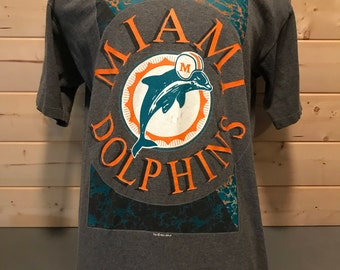 Vintage 1993 Miami Dolphins Starter T-Shirt Great Color Made in USA